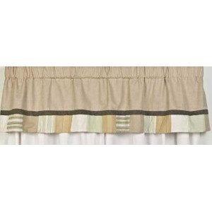 Bear and Buddies Nursery Window Valance by Creative Home Accents