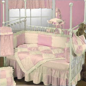 Baby Doll Bedding Queen Crib Bedding Set, Pink by BabyDoll Bedding