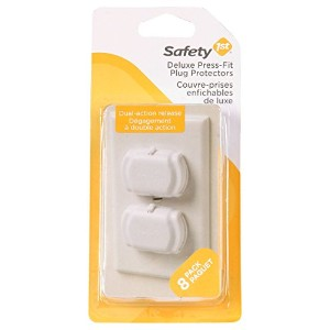 Safety 1st Juvenile Deluxe Press Fit Outlet Plugs 48307