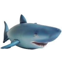Jet Creations AL-SHARK 84in.L x 31in.H Lifelike Inflatable Shark