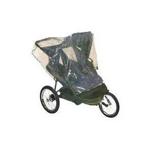 Comfy Baby! Universal Double Jogging Stroller Waterproof Rain Cover/Wind Shield by Comfy Baby ...