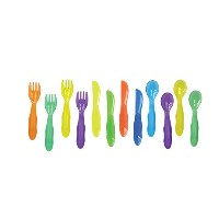 The First Years Take & Toss Toddler Flatware, by The First Years