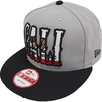 New Era California Edition Bear In Cali Grey Black Snapback Cap 9fifty Basecap