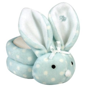 Stephan Baby Boo Bunnie Comfort Toy and Boo Cube, Baby Boy Polka Dot by Stephan Baby