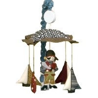 Cotton Tale Designs Pirates Cove Musical Mobile by Cotton Tale Designs