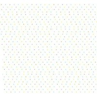 SheetWorld Fitted Pack N Play (Graco) Sheet - Pastel Colorful Pindots Woven - Made In USA by...