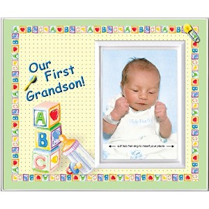 Our First Grandson - Picture Frame Gift by Expressly Yours! Photo Expressions