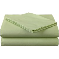 American Baby Company 100% Cotton Percale Toddler Bedding Sheet Set, Celery, 3 Piece by American...