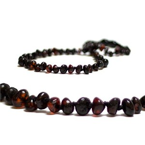 The Art of CurePremium Baltic Amber Teething Necklace for Baby (Cherry) - FTIR Tested by The Art of...