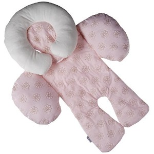 JJ Cole Collections Body Support Pink 0-8 Months Machine Washable 100% Polyester