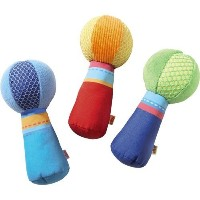 Fabric Rattle -Colors May Vary by HABA