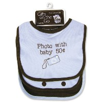Trend Lab 106315 Bib Set-Photo avec le b-b- .50 CTS-3-Pack