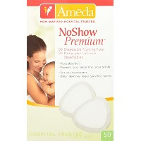 Ameda Noshow Premium Disposable Nursing Pads, 50-Count by Ameda