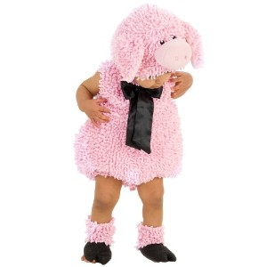 Squiggly Pig Infant / Toddler Costume 私たち豚乳児/幼児コスチューム サイズ:6/12 Months