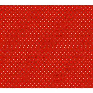 SheetWorld Fitted Pack N Play (Graco) Sheet - Primary Pindots Red Woven - Made In USA by sheetworld