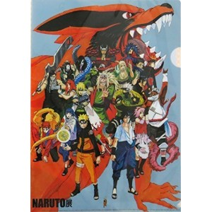 2015 NARUTO展限定 ナルト クリアファイル「第七班セット」2枚組