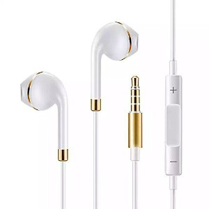 BeingON Ear Pods with Remote and Mic (iPod・iPhone用イヤホン) スマホ Android 多機種対応 新型 イヤホン リモコン付き マイク付き ...
