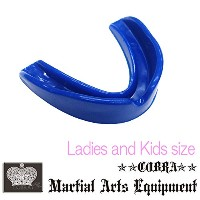 COBRA 薄型マウスピース LADIES AND JUNIOR MOUTH GUARD BLUE