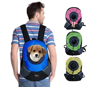 Ondoing Dog Backpack Sling Carrier Puppy Carrier Small Blue by Ondoing [並行輸入品]