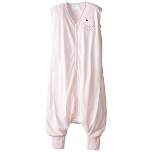 HALO SleepSack Big Kids léger tricot (PINK CUPCAKE 2-3 YEARS)