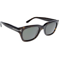 Tom Ford Snowdon TF 237 52N Havana Sunglasses