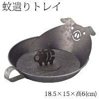 DECOLEアニマル蚊遣りトレイブタ (SK-13942)Mosquito coil tray
