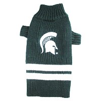 Michigan State Spartans Pet Sweater MD