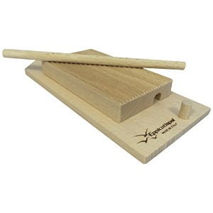 Eppicotispai EP-89 Garganelli and Gnocchi Stripper with Paddle, Natural Beechwood, Brown by...