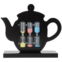 Lilys Home Perfect Tea Timer Three-In-One 1-3-5 Minute Sand Hourglass Timers by Lily's Home