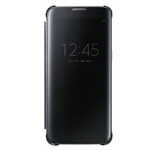 SAMSUNG Galaxy S7 Edge Clear View Flip Cover Case、サムスンギャラクシーs7クリアビューカバー、携帯電話ケース、携帯電話カバー [並行輸入品] ...