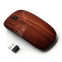 KOOLmouse [ ワイヤレスマウス 2.4Ghz 無線光学式マウス ] [ Wallpaper Art Wood Interior Design Texture ]