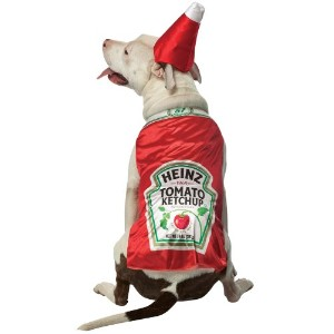 Heinz Ketchup Pet Costume Size X-Large by Rasta Imposta