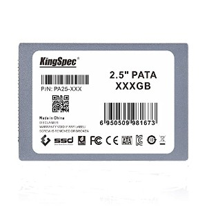 KingSpec 128GB 2.5インチ PATA(IDE 44pin) MLC 128GB IDE SSD Drive