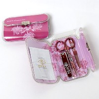 BELL Manicure Sets BM-330D ポータブル爪の管理セット 爪切りセット 高品質のネイルケアセット高級感のある東洋画のデザイン Portable Nail Clippers...