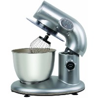 Stand Mixer with 6-QT Stainless Steel Bowl スタンドミキサー American Era社 Silver【並行輸入】