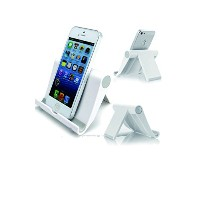 Compras+ (コンプラス) Multi-angle Tablet & Smartphone Stand ホワイト