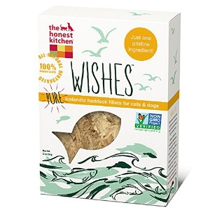The Honest Kitchen Wishes Grain Free Haddock Fillet Fish Treat Pets Dog Cat 2z
