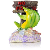 Bio Bubbles Pets BL01122 No Fishing Ornament