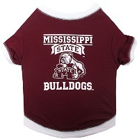 Mississippi State Bulldogs Pet Shirt MD