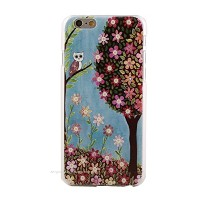 Generic (ジェネリック) Girlish Otome-chic skin case for iPhone 6plus (5.5inch) Owl(フクロウ)