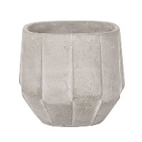 amabro CEMENT PLANTER Polygon & Artdeco [ Artdeco / グレー / Sサイズ ]