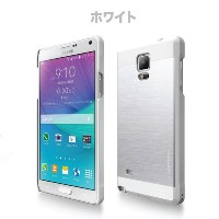 Galaxy Note 4 ケース カバー【motomo 正規品】INO METAL Galaxy Note 4 (GALAXY NOTE4, ホワイト)