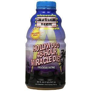 Hollywood 48-Hour Miracle Diet, 32-Ounce Bottles (Pack of 2) by Hollywood Miracle Diet [並行輸入品]