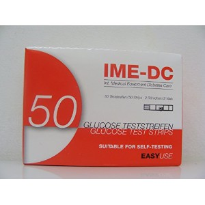 IME-DC Blood Glucose Test Stirps (2 x 25) by IME-DC