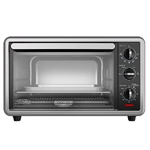 Black & Decker TP1216B Convection Countertop Oven, Black by BLACK+DECKER