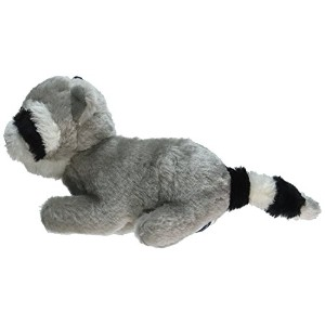 Copa Judaica Chewish Treat Ganef Racoon Squeaker Plush Dog Toy, 8 by 3 by 5-Inch, Multicolor [並行輸入品]