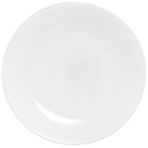 Corelle Livingware Luncheon Plate, Winter Frost White, Size: 8-1/2-Inch by CORELLE