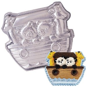 Wilton Noah's Ark Animals Boat Cake Pan (2105-2026, 1999) by Wilton