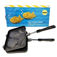 【並行輸入】Taiyaki Japanese Fish-Shaped Hot Cake Maker たい焼きメーカー