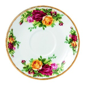 Royal Albert Old Country Roses 5-inch Espresso Saucer by Royal Albert